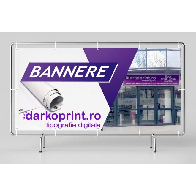 Banner fata verso PVC Blockout 460 gsm