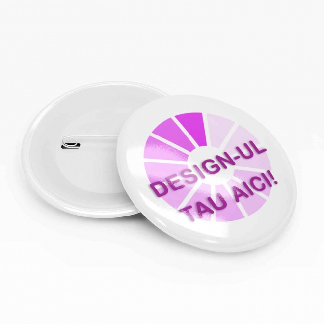 Insigna personalizata 40 mm