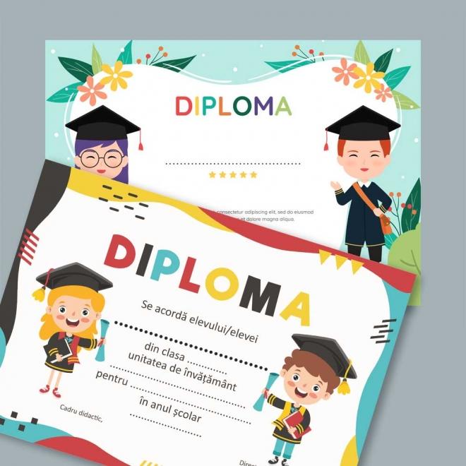 Diploma scolara - invatamant primar