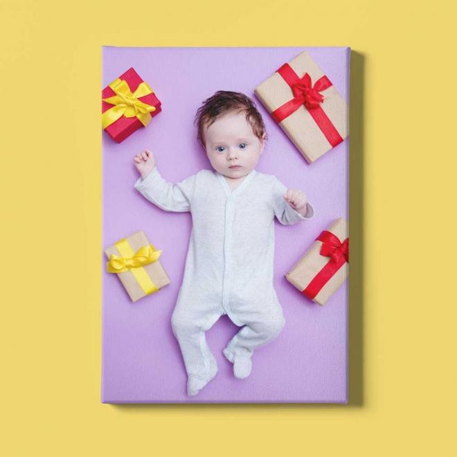 Tablou canvas personalizat cu 1 fotografie 24x30 cm