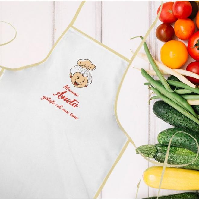 Sort bucatarie personalizat cadou -  Mamaie