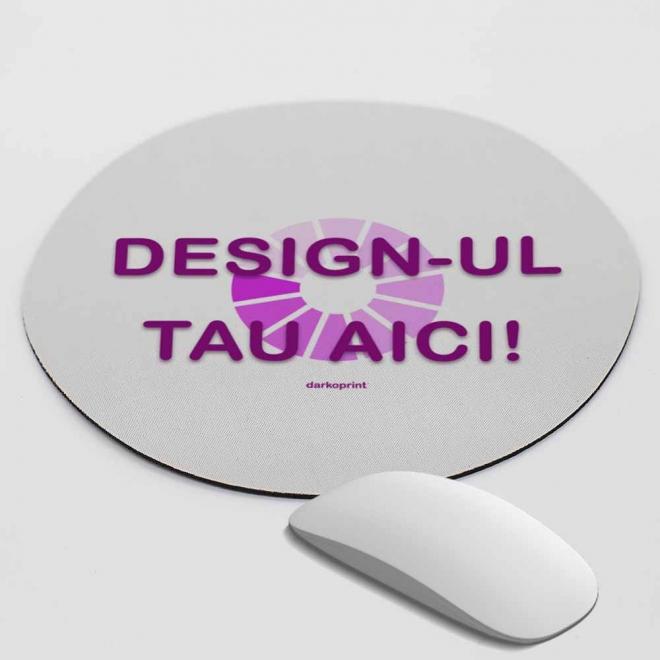 Mouse pad rotund personalizat