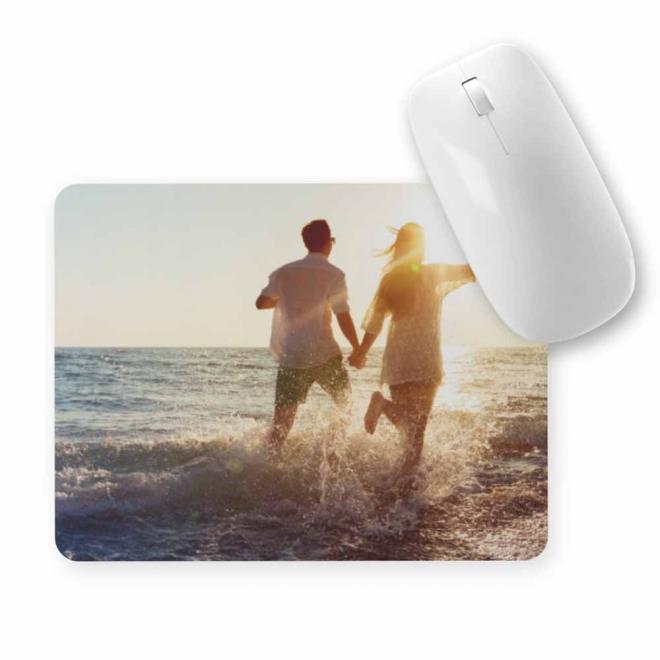 Mouse pad dreptunghiular personalizat cu 1 fotografie