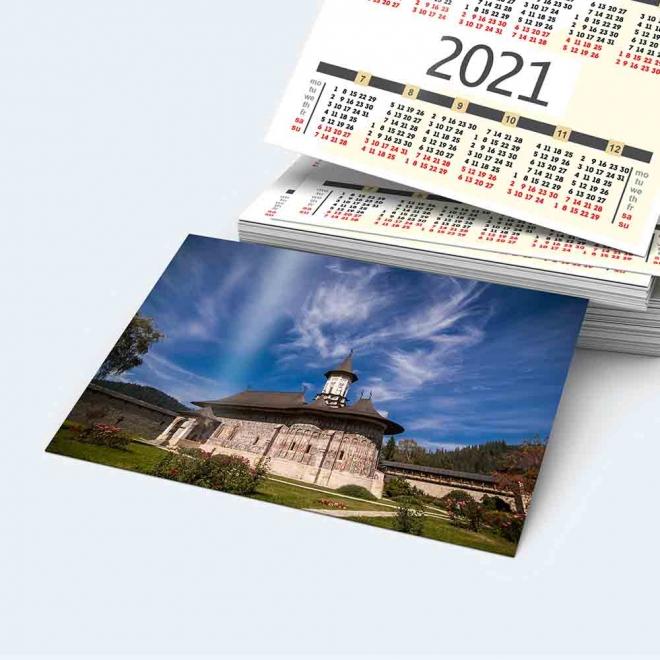 Calendar buzunar Manastirea Sucevitei