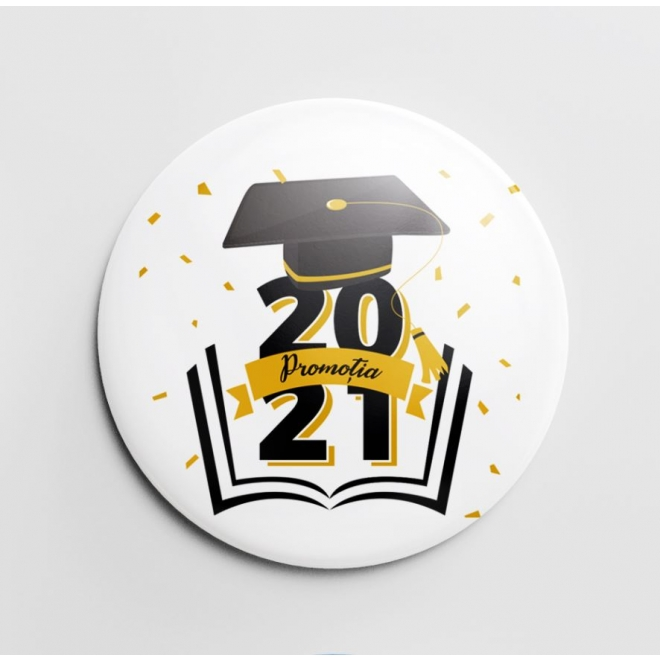 Insigna personalizata Promotia 2021