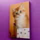 Tablou canvas personalizat cu 1 fotografie 30x50 cm