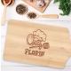 Tocator lemn personalizat - Chef 35x16 cm