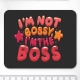 Mouse pad dreptunghiular - I'm the Boss