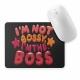 Mouse pad dreptunghiular - I'm the Boss