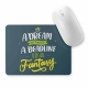 Mouse pad dreptunghiular mesaj motivational -  Deadline