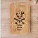 Tocator bambus personalizat - Fii calm gateste Nasu