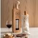 Sacosa sticla de vin pluta, personalizata