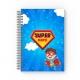 Notebook personalizat copii - Super erou