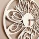 Ceas decorativ lemn